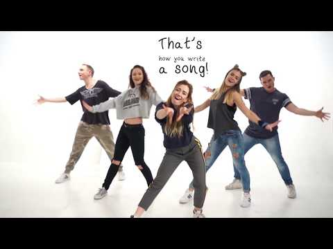 Alexander Rybak - That's How You Write A Song, Lyrics Dance Video by Time to Show Lithuania, ESC2018