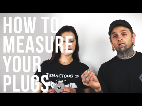 How to Measure Plugs & Tunnels | UrbanBodyJewelry.com