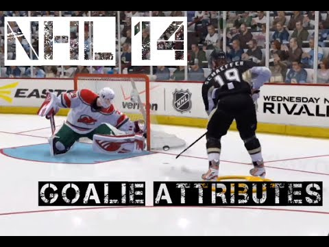 NHL 14: Goalie Guide - Attributes