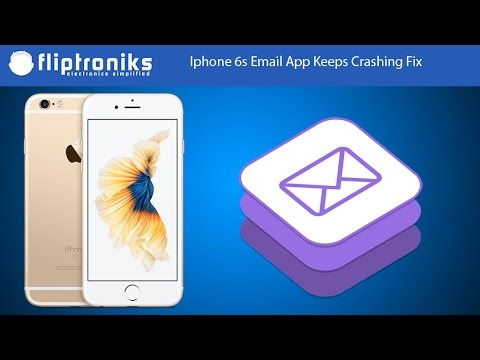 Iphone 6s Email App Keeps Crashing Fix - Fliptroniks.com