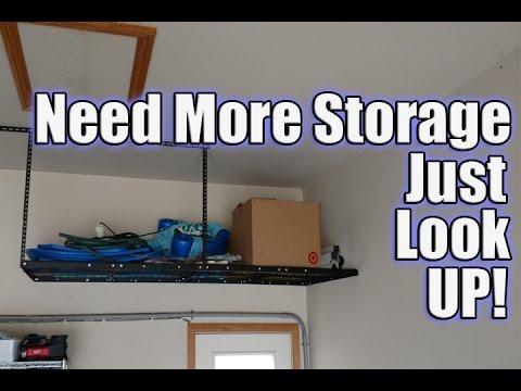 Ceiling Mounted Racks & Storage Tips