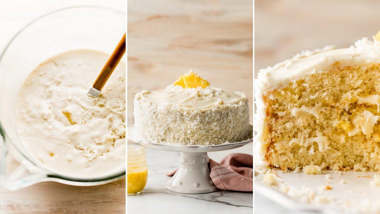 Pineapple Coconut Cake | Sally's Baking Addiction
