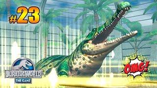 SARCOSUCHUS VS LEGENDARIOS!!! EPIC! - LUCHAS DINOSAURIOS!! Jurassic World™: The Game PARTE 23