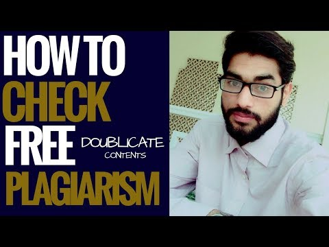 Free Google Duplicate Content Checker Tools || plagiarism checker free online in Hindi 2018