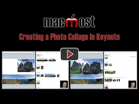 Creating a Photo Collage In Keynote (MacMost #1821)
