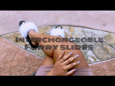DIY Furry Slides | Interchangable