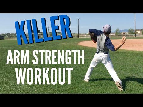 KILLER Arm Strength Workout for Baseball Players