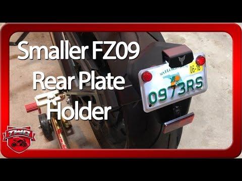 FZ09 Optional Smaller Fender Plate Holder
