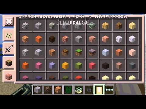 Minecraft Pocket Edition 0.13.0 Build 1 Sneak Peek
