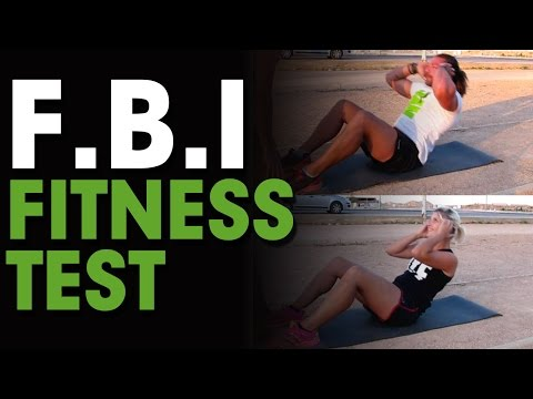 FBI Fitness Test