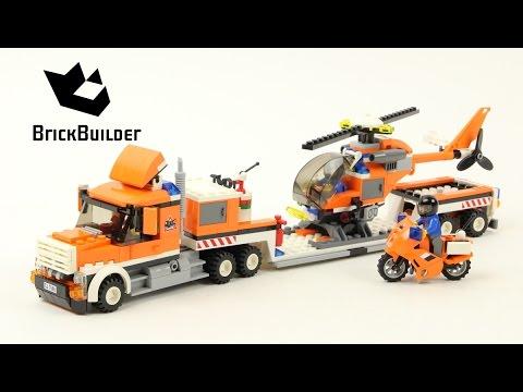 Lego City 7686 Helicopter Transporter - Lego Speed Build