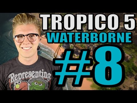 Let's Play Tropico 5: Waterborne [Gameplay] Part 8 - First Church!