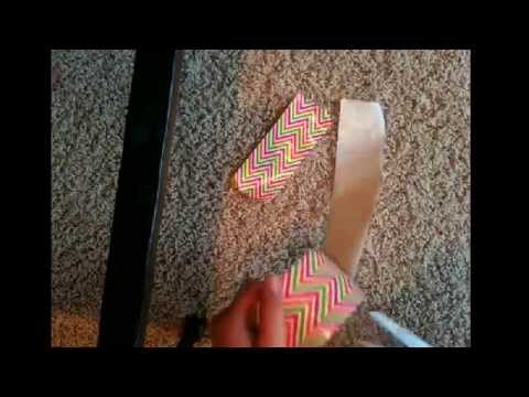 How to make a duck tape cheer bow❤