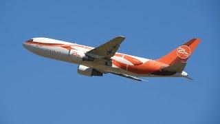 ESSA RARIDADE VEIO PRA CAMPINAS - POUSO E DECOLAGEM 21AIR BOEING 767-200F