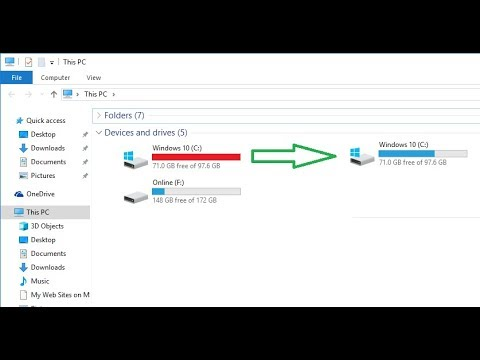 How to Make Free Space in C Drive on Windows Laptop/PC