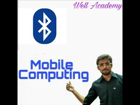 Mobile Computing Lecture - -  Bluetooth Architecture easy explanation (Eng-Hindi)