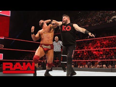 Bobby Roode vs. Kevin Owens: Raw, May 28, 2018
