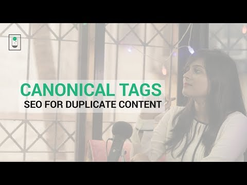 Canonical Tags - SEO for Duplicate Content