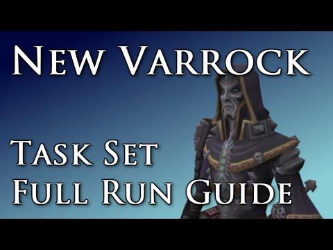 RSTask: New Varrock Task Set Full Run Guide [Runescape|RS3]