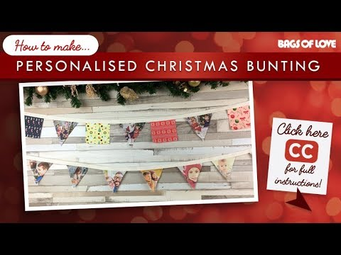 How to Make... Personalised Christmas Bunting!