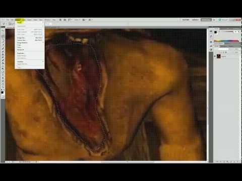 Adobe Photoshop CS5.5 Tutorial - 4 - Lasso tools