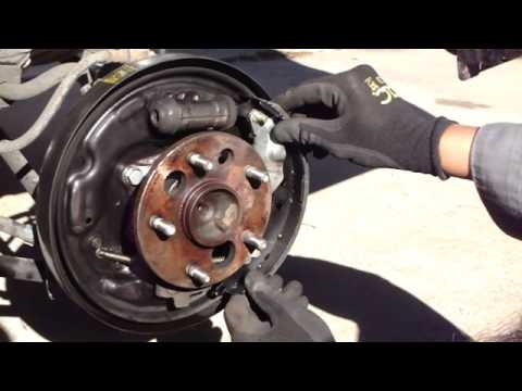Replace Camry Rear Brake Shoes