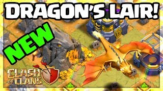 A New Dragon - Clash Of Clans Update Gameplay - The Dragon