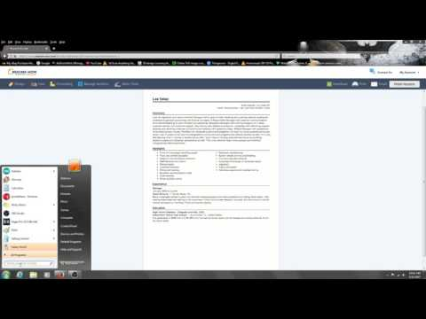 How to make a resume on resume builder for free