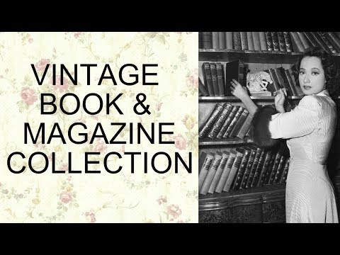 Vintage & Antique Book and Magazine Collection
