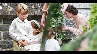 Pippa Middleton's Wedding | Prince George cries after getting scolded by Kate