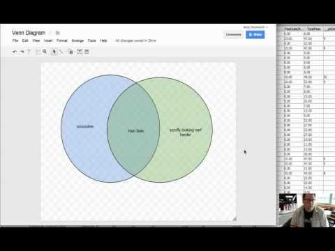 Venn Diagrams with Google Draw