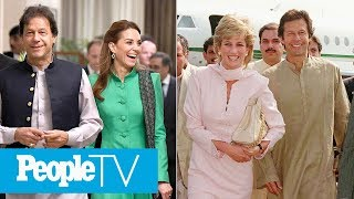 Kate Middleton & Prince William Meet Princess Diana's Friend Pakistan's PM Imran Khan | PeopleTV