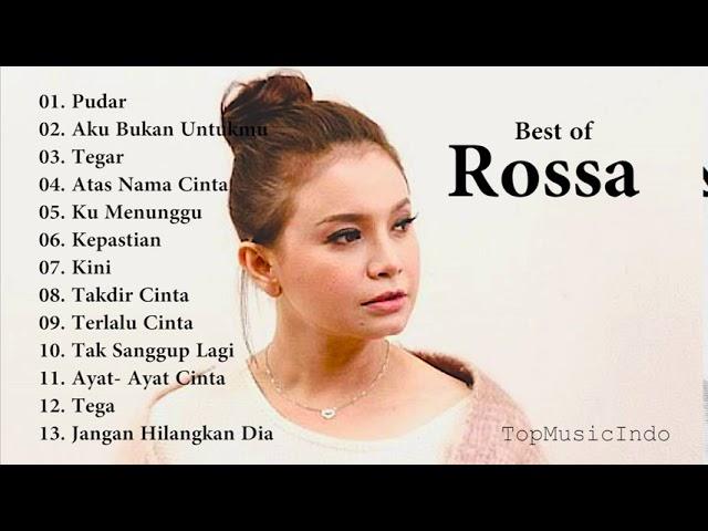 Download FULL ALBUM ROSSA - 13 Koleksi Lagu TERBAIK dan TERPOPULER Rossa FULL ALBUM MP3 Gratis