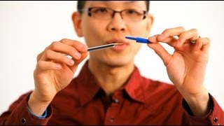 How to Do the Magnetic Pen Cap Trick | Magic Tricks