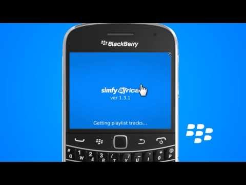 How to delete a track in playlist from blackberry handset