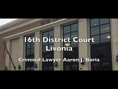 16th District Court - Livonia District Court - Livonia Lawyer