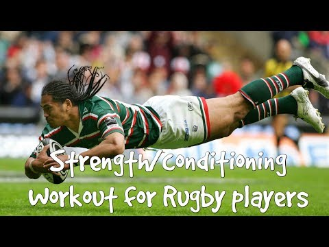 Strength/Conditioning Workout for Rugby Players