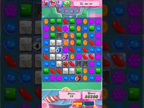 Candy Crush Saga Level 763 (3 Star, No Boosters)