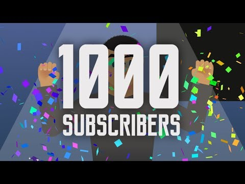 1000 Subscribers Special !