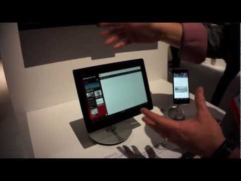 TV SideView App Demo - Sony @ CES 2013