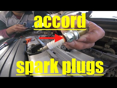 QUICKEST Spark Plug Replacement Honda Accord √ Fix It Angel