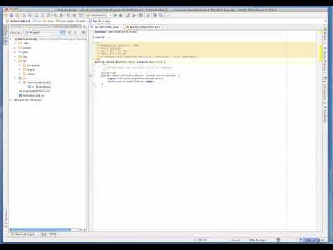 Getting started with Android and Intellij IDEA