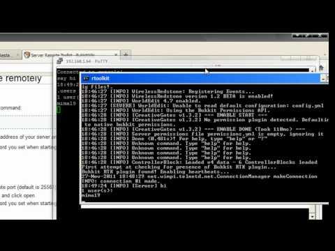 Minecraft; Best Server Addon. remote toolkit (part 2/2)