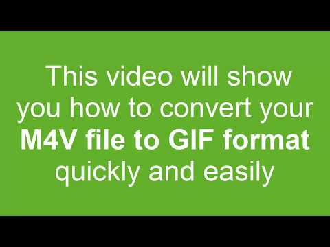 How to Convert M4V to GIF
