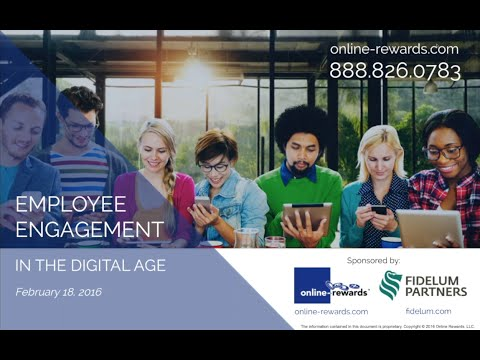 On-Demand Webinar: Employee Engagement in the Digital Age