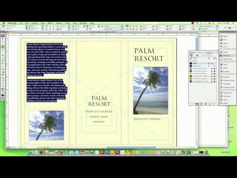 How to Design a Travel Brochure