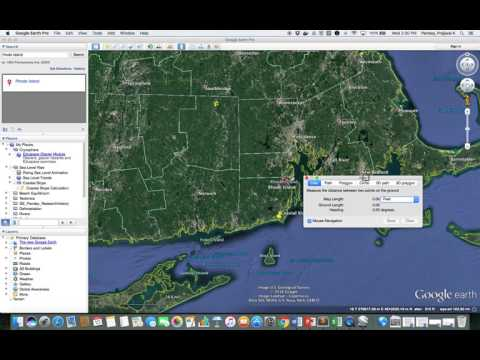 Lecture 2. Google Earth Demo and Coastal Slope Calculation