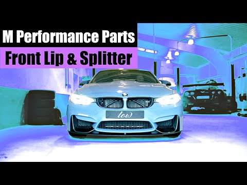 BMW M3 | M PERFORMANCE FRONT LIP & SPLITTER | LIFEONWHEELS