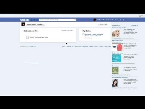 How to Find Your Deleted Notes on Facebook : Facebook Tips & Social Media