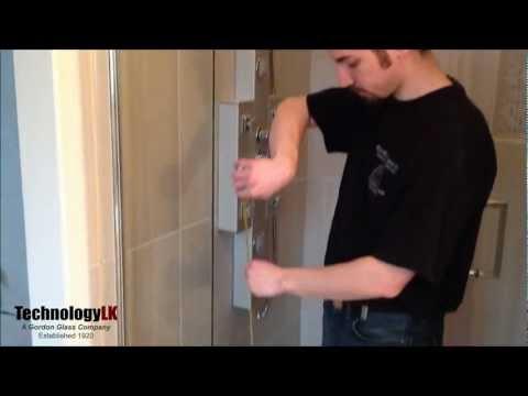 How to Install Vertical Shower Door Seal